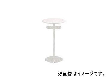 イトーキ ハイテーブル(円型)棚付 600×1000 TRA-060HCT-Z598(7730683)
