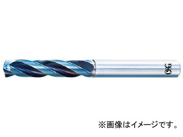 OSG 超硬油穴付3枚刃メガマッスルドリル(内部給油タイプ) TRS-HO-3D-7.8(6364021)