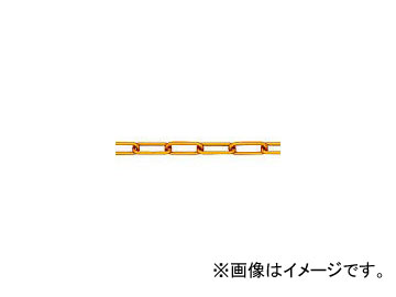 ニッサチェイン アルミ金リンクチェイン 5.0mm×15m AL50 GOLD(7884796)