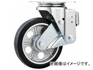 ユーエイ スカイキャスター自在車 200径アルミホイルウレタンB入り車輪 SKY-1S200AW-AS(8195160)