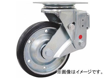 ユーエイ スカイキャスター固定車 200径耐摩耗ゴム車輪 SKY-1R200WF(AR)(8195166)