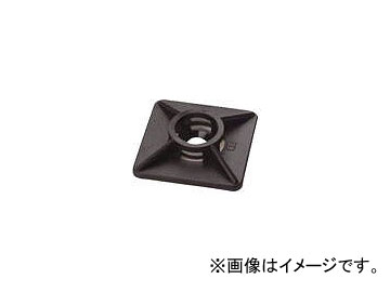 SapiSelco ケーブルタイ固定具 粘着タイプ 丸型 4.5mm BAS.2.406 市場 入数:1袋 8190248 販売期間 限定のお得なタイムセール 100個