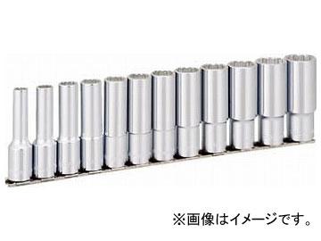 TONE ディープソケットセット(12角・ホルダー付) インチサイズ HDBL412(8109747) 入数:1セット(12pcs)