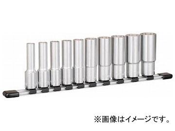 TONE ディープソケットセット(12角・ホルダー付) HDL410(8188749)