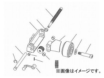 リジッド スライド ボックス ノンオペレーター F/918-I 61792(7883439)