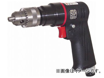 SP 超軽量エアードリル10mm(正逆回転機構付き) SP-7525(5415250)