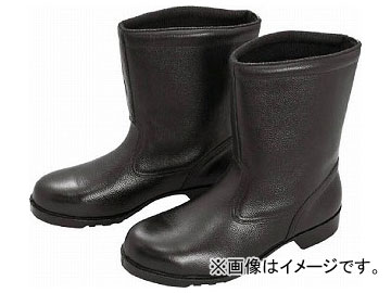 ミドリ安全 ゴム底安全靴 半長靴 V2400N 28.5cm V2400N-28.5(8217966)
