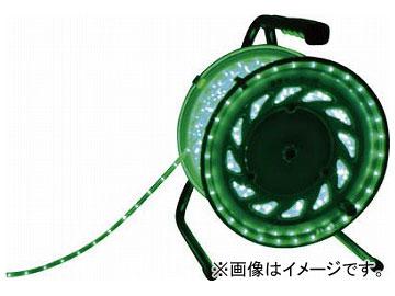 日動 LEDラインチューブドラム緑 RLL-30S-G(7875665)