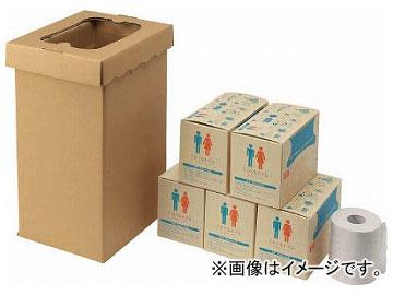 三和 非常用トイレ袋 くるくるトイレ100回分 400-785(8194127)