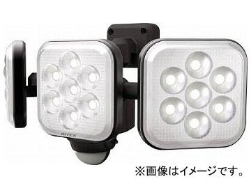 ムサシ 8W×3灯 フリーアーム式LEDセンサーライト LED-AC3024(8188776)
