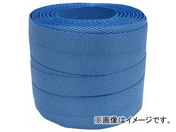 ユタカ 梱包用品 PPバンド 15.5mm×50m ブルー 卓越 L-53 7946236 マーケット