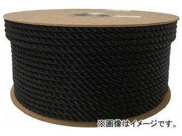 ユタカ ポリエチレンロープドラム巻 9mm×150m ブラック PRE-54(7947615)