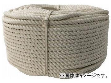 ユタカ ロープ 綿ロープ巻物 12φ×200m C12-200(7944560)