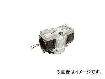 ULVAC ULVAC ダイアフラム型ドライ真空ポンプ DAP-18S-DC24(7928645)