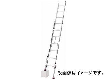 ハセガワ 脚部伸縮式2連はしご ノビ型 LSK2-1.0-44(7843364)