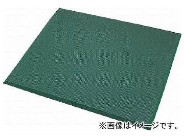 カーボーイ 足腰マット 穴なし Mサイズ グリーン AM02GR(7832401)