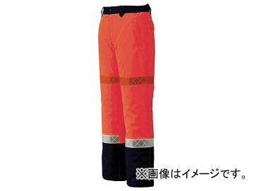 ジーベック 800 高視認防水防寒パンツ LL オレンジ 800-82-LL(7996306)