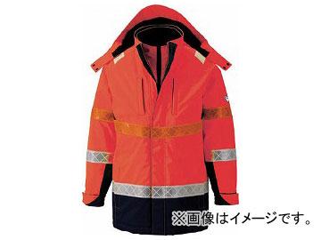 ジーベック 801 高視認防水防寒コート 3L オレンジ 801-82-3L(7996365)
