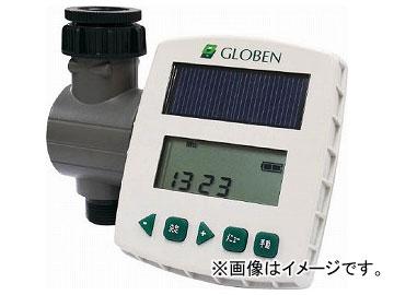 グローベン 自動散水システム太陽光発電式簡易コントローラーソラクア C10SL001(8199622)