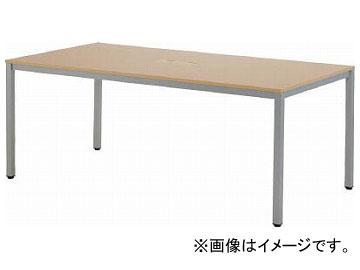 アールエフヤマカワ OAミーティングテーブル W1800×D900 ATN-1890NTL(8195185)