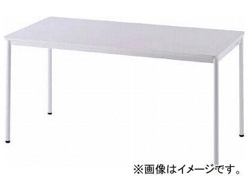 アールエフヤマカワ RFシンプルテーブル W1400×D700 ホワイト RFSPT-1470WH(8195202)