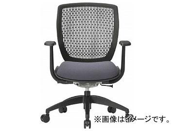 アイコ 事務用回転イス(ハイバック肘付き) MA-1535(FG2)GR-BK(8186864)