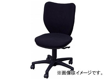 アイリスチトセ オフィスチェア ミドルバックタイプ ブラック BIT-BX45-L0-F-BKBK(7902018)