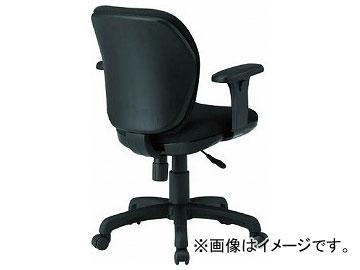 TOKIO オフィスチェア T字肘付 ブラック FST-77AT-BK(8184962)