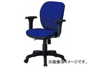 TOKIO オフィスチェア T字肘付 ネイビー FST-77AT-NV(8184964)