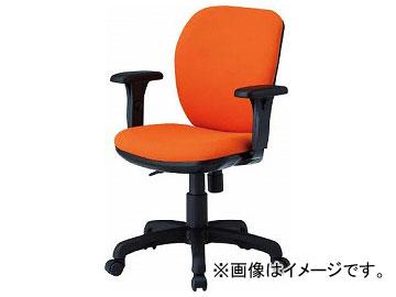 TOKIO オフィスチェア T字肘付 オレンジ FST-77AT-OR(8184965)