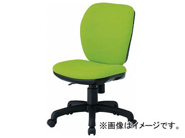 TOKIO オフィスチェア 肘なし モスグリーン FST-77-MG(8184955)