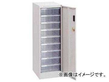 ナカバヤシ セキュリティフロアケースA4/深9段 AF-SM9-N(7236921)