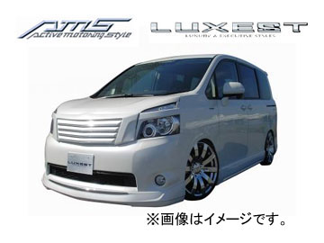 AMS/エーエムエス LUXEST luxury & exective style ルーフウイング 塗装済み品 ヴォクシー(V・X・TRANS-X) ZRR70/75G 2007/6~