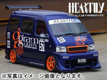 HEARTILY/ハーテリー EVERY series ブレイブマフラー(砲弾1本80パイ) エブリィ Type-R DA62