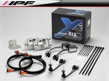 IPF SUPER HID X CONVERSION KIT/スーパー HID X コンバージョンキット XD61 6000k H1 12v 35W 車検対応 【smtb-F】