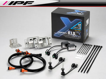 IPF SUPER HID X CONVERSION KIT/スーパー HID X コンバージョンキット XD72 6850k H7 12v 35W 車検対応 【smtb-F】