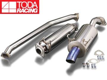 戸田レーシング/TODA RACING ハイパワーマフラーセット(ドルフィンテール) 18000-DC5-000 インテグラ TypeR DC5 K20A