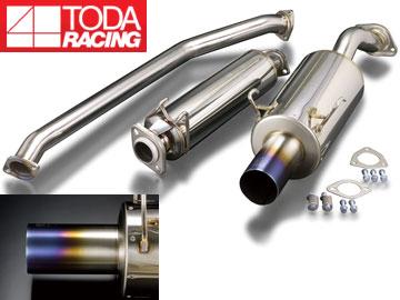戸田レーシング/TODA RACING ハイパワーマフラーセット(ストレートテール) 18000-DC5-001 インテグラ TypeR DC5 K20A