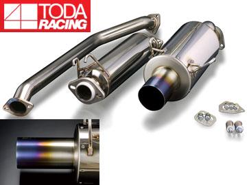 戸田レーシング/TODA RACING ハイパワーマフラーセット(ストレートテール) 18000-EP3-001 インテグラ TypeR EP3 K20A
