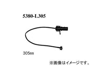 ディクセル ブレーキパッドセンサー 5380-L305 フロント アウディ RS4 2.7 V6 TWIN TURBO 8DASJF/8DAZRF 2000年~2002年