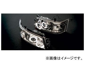 アーティシャンスピリッツ LEDヘッドランプ クローム トヨタ ハイエース/レジアスハイエース KDH21#/TRH21# SUPER/GL/DX 2007年08月~ HIGH-SPEC
