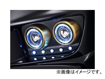 ダムド GOLDMAN CRUISE フォグ/LED キット バージョンI 未塗装品素地 トヨタ ヴェルファイア ANH20W MC前・後 対応