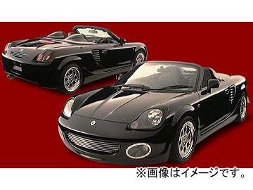 ダムド BLACK×METAL フロントバンパー トヨタ MR-S ZZW30
