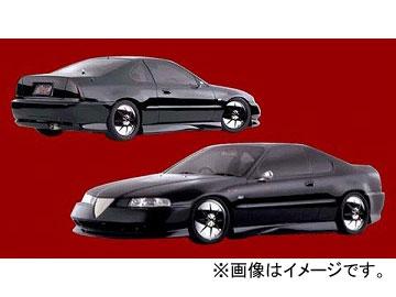 ダムド BLACK×METAL フロントバンパー ホンダ プレリュード BA8