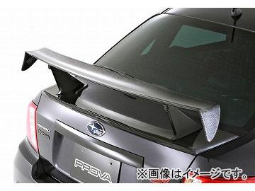 ダムド STURM レーシングリアウィング マットブラック×純正色塗装 スバル インプレッサ WRX STI CBA-GVB・GVF・GRB・GRF 2010年01月~