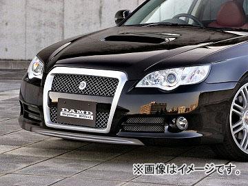 ダムド Styling Effect フロントバンパー+フロントグリル カーボン スバル レガシイツーリングワゴン BP5-D~F