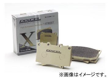 ディクセル X type ブレーキパッド フロント スズキ イグニス FF21S FF&4WD 2016年02月~