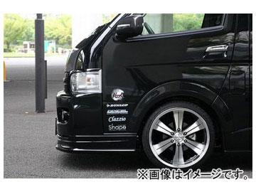 乱人 フロントフェンダーカバー(塗装済品) トヨタ ハイエース 200系 ワイドボディー