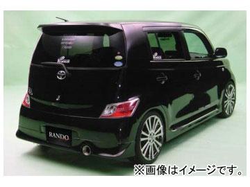 乱人 RANDO Style リアハーフスポイラー 未塗装 トヨタ bB QNC20系 ZQ/ZXversion,SQ/SXversion
