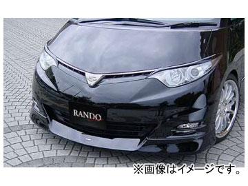 乱人 RANDO Style フロントハーフスポイラー 未塗装 トヨタ エスティマ アエラス GSR/ACR 50系 前期